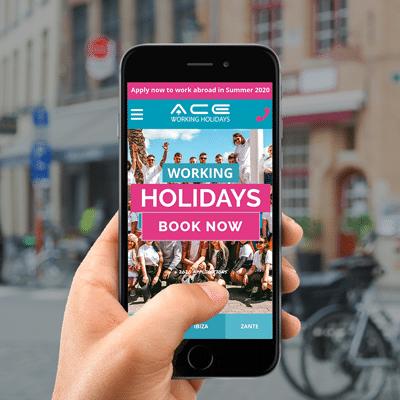 Ace mobile website